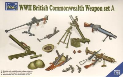 30010 - WWII British Commonwealth Weapon Set A