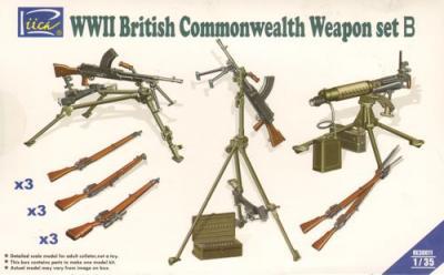 30011 - WWII British Commonwealth Weapon Set B