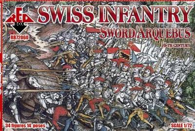 72060 - Swiss Infantry 1/72