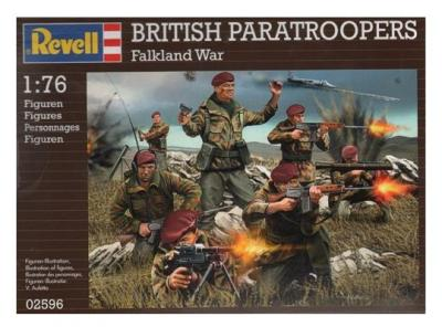 2596 - British Paratroopers 1/72