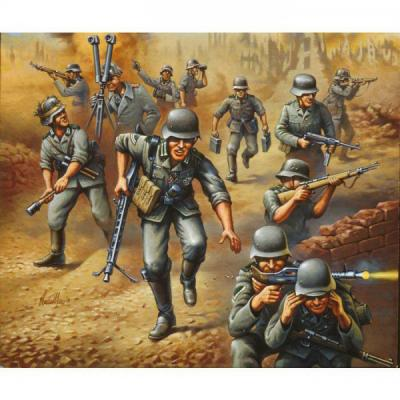 2511 German Tankgrenadiers WW II.