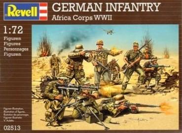 Revell 2513 afrika korps allemand de la 2eme gm