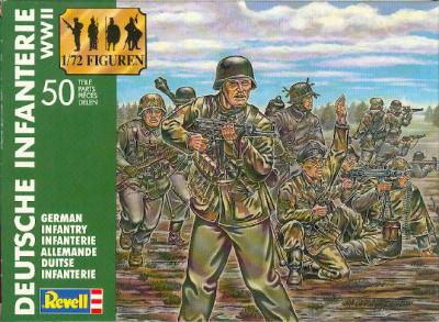 2502 - GERMAN INFANTRY 1/72