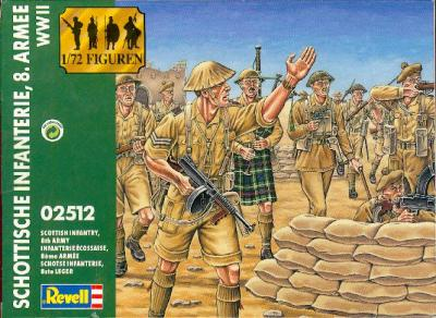 2512 - SCOTTISH INFANTRY - 8TH ARMY 1/72