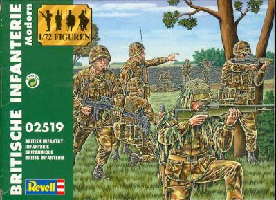 02519 Royal Army (modern) 1/72 Revell