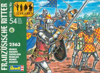 2563 - FRENCH KNIGHTS 1/72