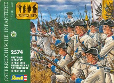 2574 - Austrian Infantry 7YW 1/72
