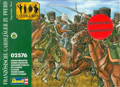 2576 - FRENCH MOUNTED GUARD CHASSEURS 1/72