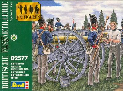 2577 - BRITISH FOOT ARTILLERY 1/72