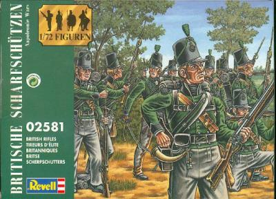 2581 - British Rifles 1/72