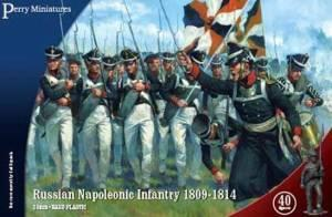 RN20 - Russian Napoleonic Infantry 1809-1814 28mm