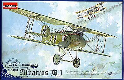 001 - Albatros D.I 1/72