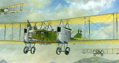 002 - Gotha G.II / G.III bomber 1/72