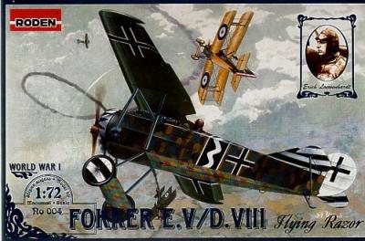 004 - Fokker E.V / D.VIII 1/72