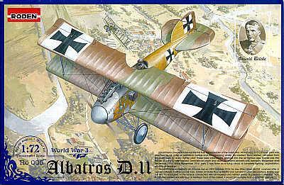 006 - Albatros D.II 1/72