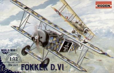 007 - Fokker D.VI 1/72