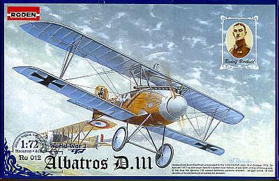 012 - Albatros D.III 1/72
