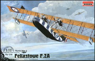 014 - Felixstowe F.2A Flying boat 1/72