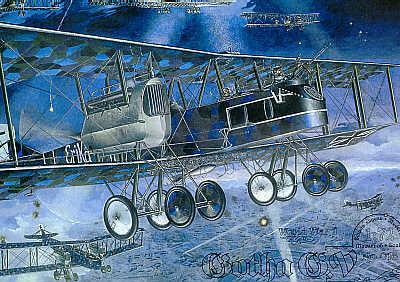 016 - Gotha G.V bomber 1/72
