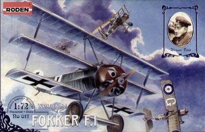 017 - Fokker F.1 1/72