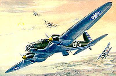 021 - Heinkel He 111A 1/72