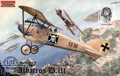 022 - Albatros D.III Oeffag S.53.2 1/72