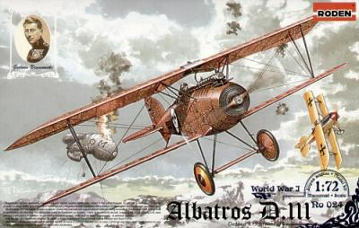024 - Albatros D.III Oeffag s.153 (early) 1/72