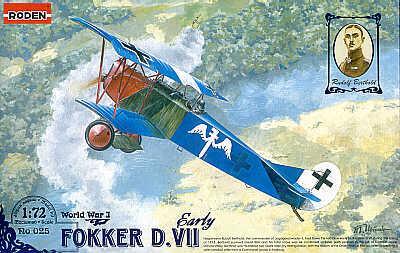 025 - Fokker D.VII 1/72