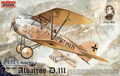 026 - Albatros D.III Oeffag s.253 1/72