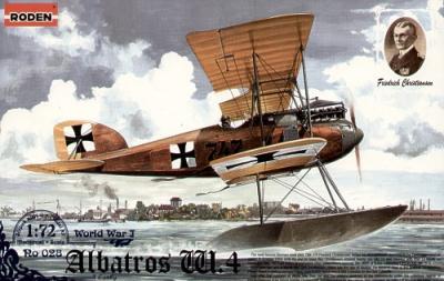 028 - Albatros W.4b early 1/72
