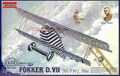 029 - Fokker D.VII Early 1/72