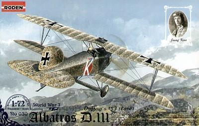 030 - Albatros D.III Oeffag S.152 late 1/72