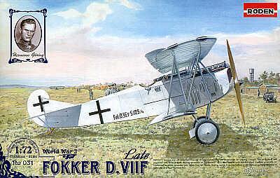 031 - Fokker D.VIIF Late 1/72
