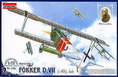 035 - Fokker D.VII (Alb) Late 1/72