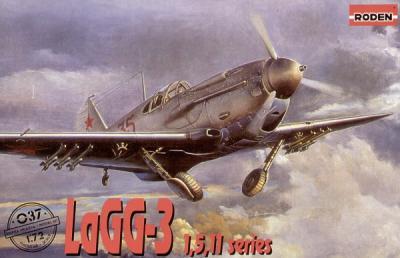037 - Lavochkin LaGG-3 series 1, 5, 11 1/72