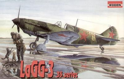038 - Lavochkin LaGG-3 series 35 1/72