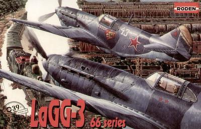 039 - Lavochkin LaGG-3 series 66 1/72