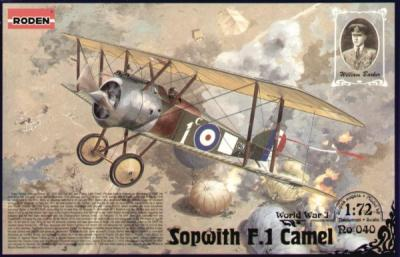 040 - Sopwith Camel F.1 1/72