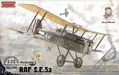 045 - Royal-Aircraft-Factory SE.5a with Wolseley Viper engine 1/72