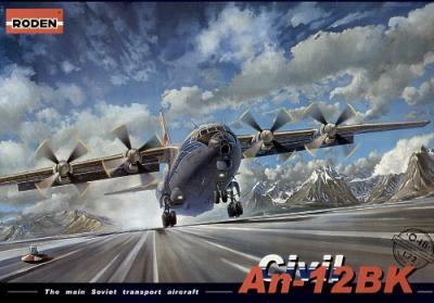 048 - Antonov An-12BK Civil 1/72