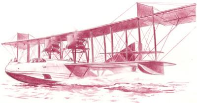 049 - Curtiss H-16 flying boat 1/72