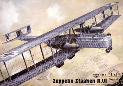 050 - Zeppelin Staaken (Aviatek 52/17) 1/72