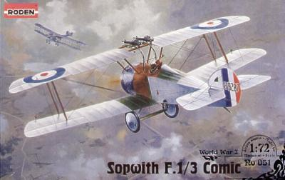 051 - Sopwith Camel 'Comic Fighter' 1/72