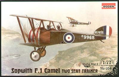 054 - Sopwith F.1 Camel two seat trainer 1/72