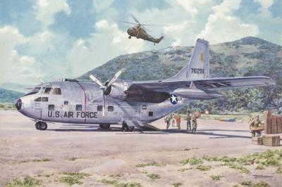 056 - Fairchild C-123B Provider 1/72