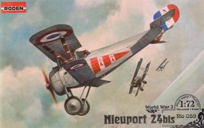 059 - Nieuport N.24bis 1/72