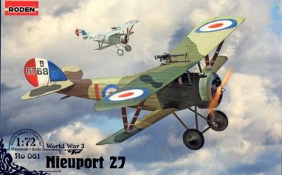 061 - Nieuport N.27 1/72