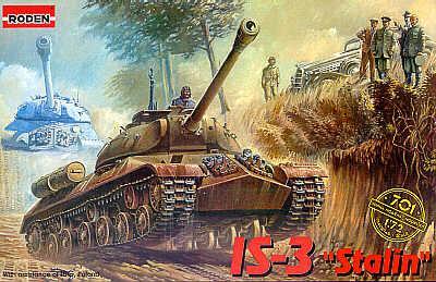 701 - Russian IS-3 Joseph Stalin Tank Jozef Stalin 1/72