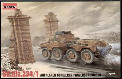 703 - German Sd.Kfz.234/1 Panzerspahwagen 1/72