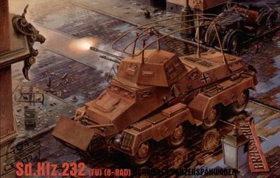 704 - German Sd.Kfz.232 (FU) (8-Rad) Schwerer Panzerspahwagen 1/72